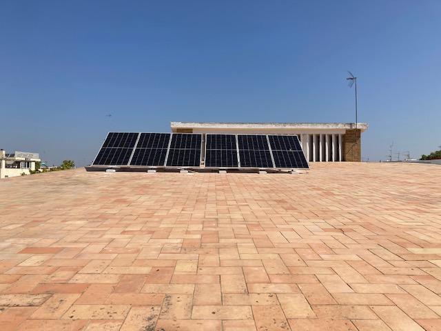 fotovoltaica parroquia candelaria Sevilla